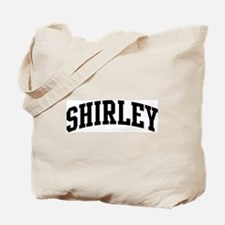 SHIRLEY (curve-black) Tote Bag