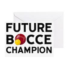 Future Bocce Champion Greeting Card