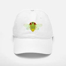 Cute Green Cicada Baseball Baseball Cap