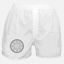 White Lotus Tile Boxer Shorts