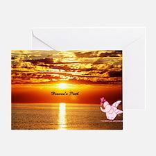 Heaven's path Greeting Card