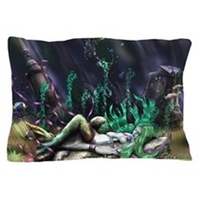 Sleeping Sea Beauty Pillow Case