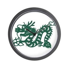 Dragon Chinese East Asian Astrology Zod Wall Clock