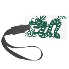 Dragon Chinese East Asian Astrol Luggage Tag