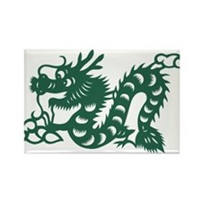 Dragon Chinese East Asian Astrology Zodiac Magnets