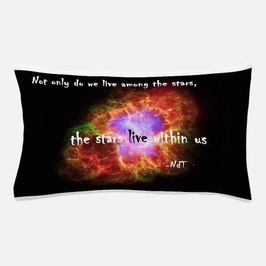Neil deGrasse Tyson's Stardust Pillow Case