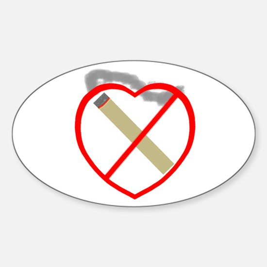 Stop Smoking Shop Oval Decal