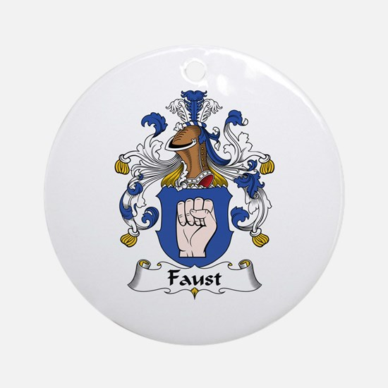Faust Ornament (Round)
