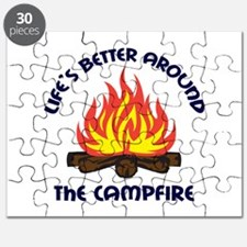 AROUND THE CAMPFIRE Puzzle