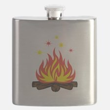 CAMPFIRE SPARKS Flask