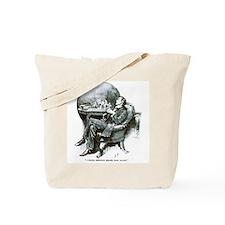 Holmes Half Asleep Tote Bag