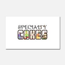 SPECIALTY CAKES Car Magnet 20 x 12