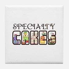 SPECIALTY CAKES Tile Coaster
