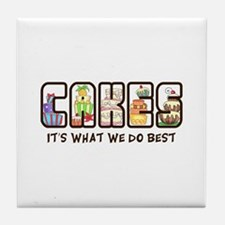 WHAT WE DO BEST Tile Coaster