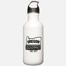 a picture of portland Water Bottle