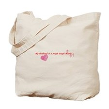 husband marine.png Tote Bag