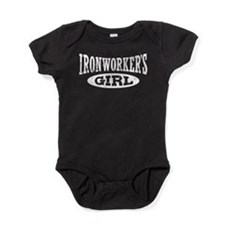 Cute Ironworker wife Baby Bodysuit