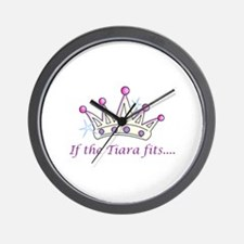 If The Tiara Fits... Wall Clock