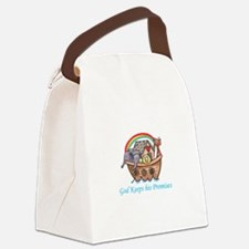 God Keeps His Promises Canvas Lunch Bag