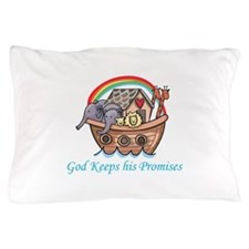 God Keeps His Promises Pillow Case