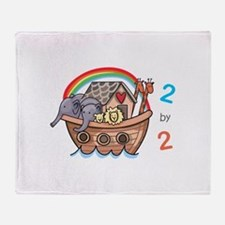 Two By Two Throw Blanket