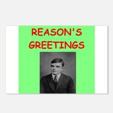 alan turing Postcards (Package of 8)