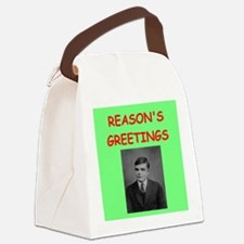 alan turing Canvas Lunch Bag