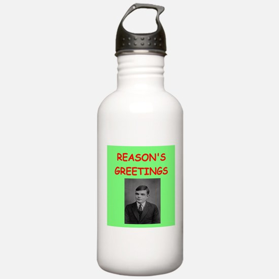 alan turing Water Bottle