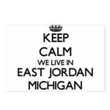 Keep calm we live in East Postcards (Package of 8)