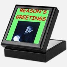 Funny Physics christmas Keepsake Box