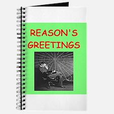 Cute Physics christmas Journal