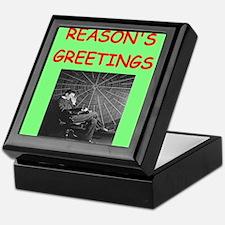 Cute Physics christmas Keepsake Box