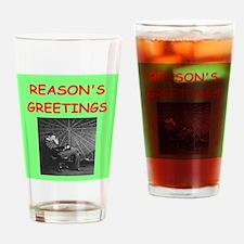 Funny Physics christmas Drinking Glass