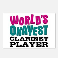 World's Okayest Clarinet Postcards (Package of 8)