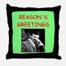 Funny Nicolas Throw Pillow