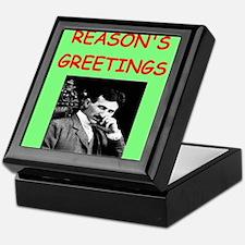 Cool Physics christmas Keepsake Box