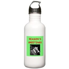 Funny Physics christmas Water Bottle