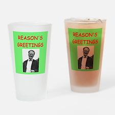 erwin schrodinger Drinking Glass