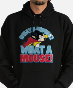 What A Mighty Mouse Hoodie (dark)