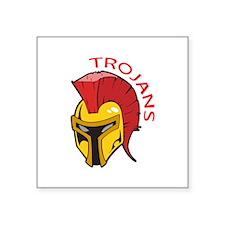TROJANS MASCOT Sticker