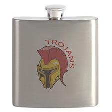TROJANS MASCOT Flask