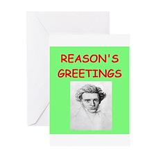 kierkegaard Greeting Cards