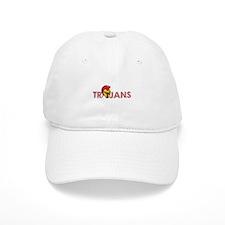 TROJANS FULL BACK Baseball Baseball Cap