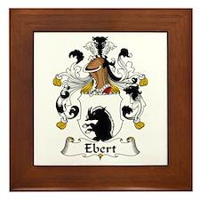 Ebert Framed Tile