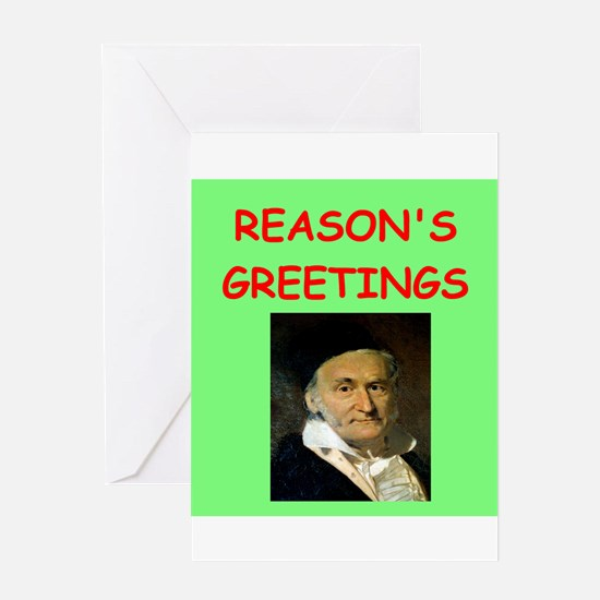carl friedrich gauss Greeting Cards