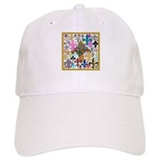Fleur De Lis Baseball Cap