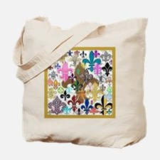 Fleur De Lis Tote Bag