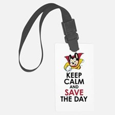 Keep Calm Mighty Mouse Luggage Tag