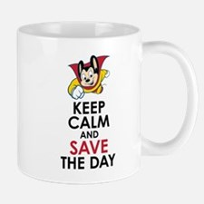 Keep Calm Mighty Mouse Mugs