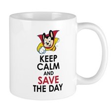 Keep Calm Mighty Mouse Mugs